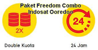 Paket Double Data Freedom Combo Ooredoo