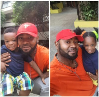 Prince Eke Celebrates his children as they are a year older today