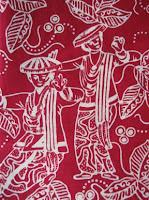 corak motif kain batik kota kudus asli