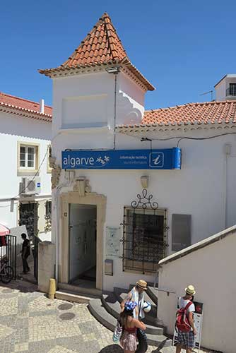 Albufeira Tourist Office, Algarve, Portugal.