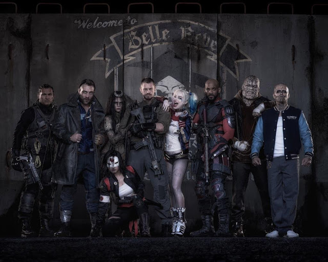 publicity photo for David Ayer's Suicide Squad (2016)