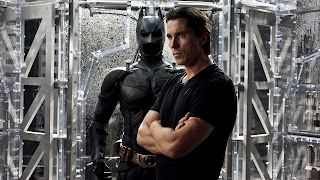 Christian Bale with Batman Costume The Dark Knight Rises 2012 HD Wallpaper