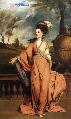 Portrait of Jane Fleming the Countess of Harrington by Joshua Reynolds