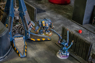 space wolves drop pod and dreadnaught