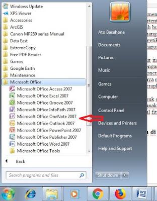 Cara Copy Tulisan Pada Gambar Dengan Mudah Menggunakan Microsoft Office OneNote