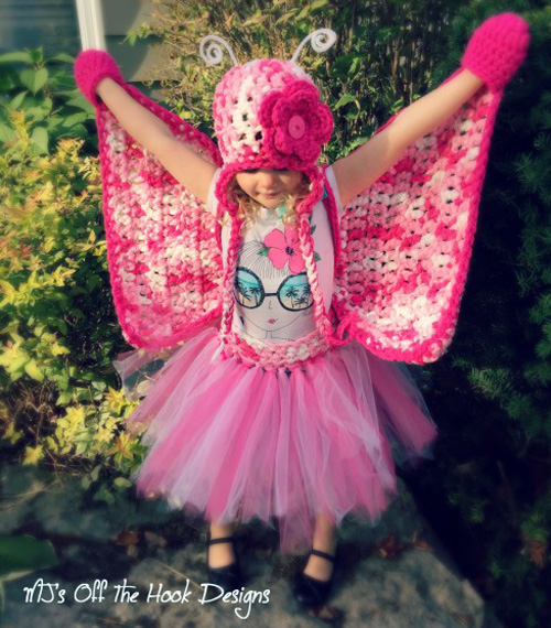 Crochet Butterfly Costume - Free Pattern