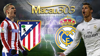 Prediksi Judi Bola Atletico Madrid vs Real Madrid 11 Mei 2017