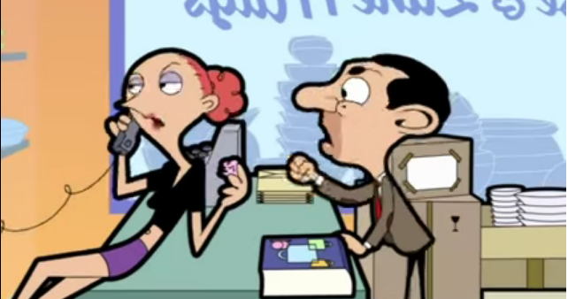 Video tim Mr Bean  Bad Customer Service  Schlechter Kundenservice