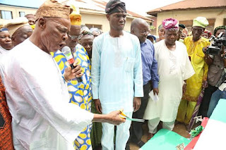 """#WorldwaterDay: HON. DAPO LAM ADESINA COMMISSIONS 5 WATER PROJECTS UNDER THE """"OMO OLOORE WATER SCHEME"""""""
