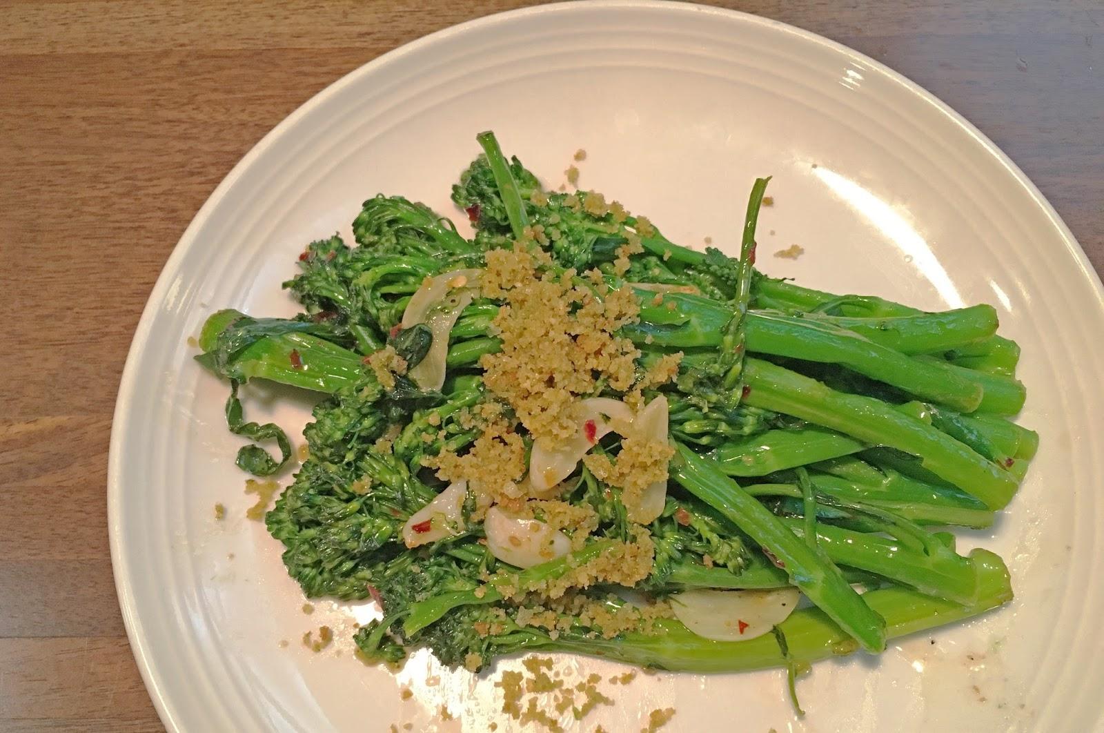 broccolini at Vivo 53 - an Italian restaurant in Fort Worth, Texas