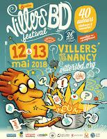VillersBD 2018, c'est ce week end !; weekend; week end; villersBD; mai; 2018; festival; bd; auteurs; artistes; villers les nancy;