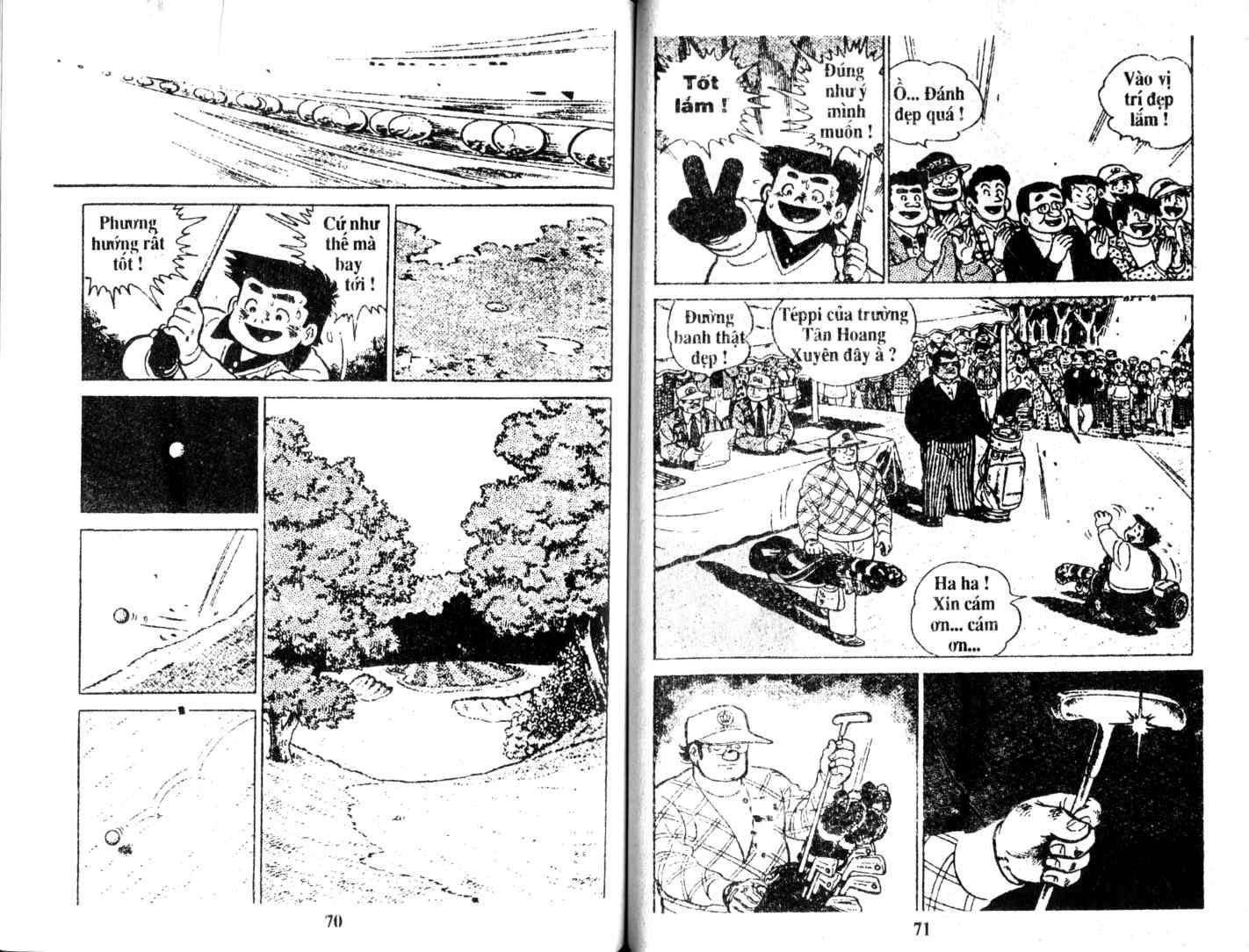 Ashita Tenki ni Naare chapter 15 trang 34