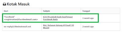 Trik Daftar Akun Facebook tanpa email asli 5