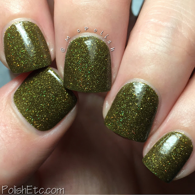 Nine Zero Lacquer - Men of Letters Collection - McPolish - Singer Auto Salvage