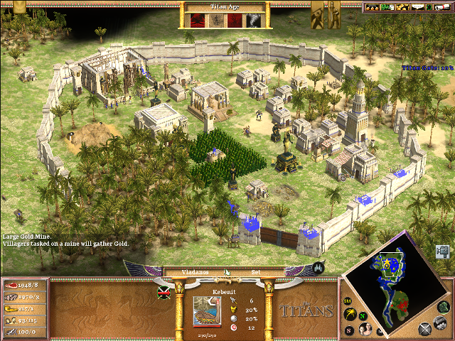 Age of Mythology The Titans PC Games Gameplay