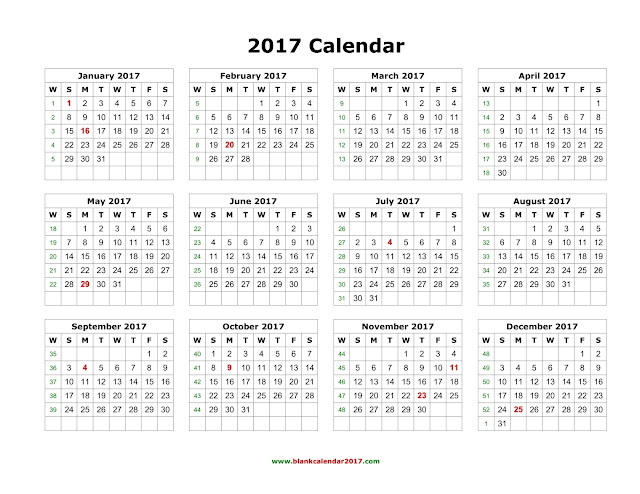 10+ Yearly Calendar 2018 Templates - PDF Word Excel - Get Printable - printable calendar pdf