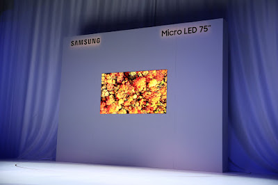 Samsung Unveils 75-inch Micro LED display technology at CES