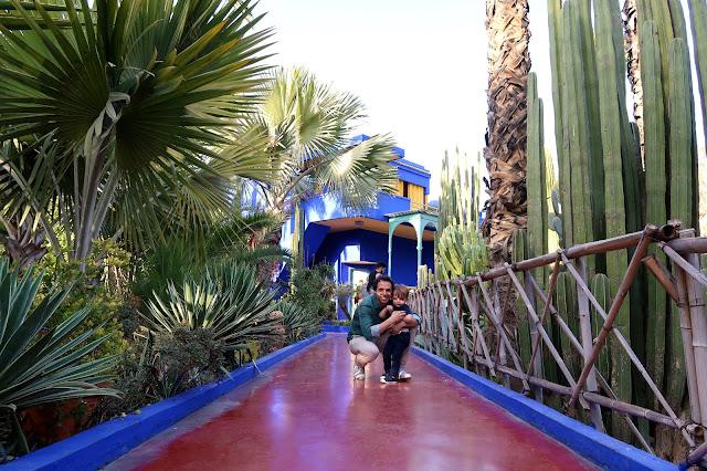 jardines de Majorelle Marrakech a golpe de objetivo