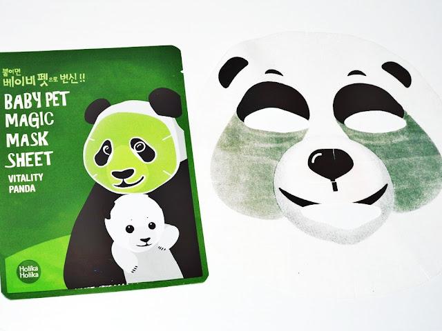Holika Holika maska panda recenzja