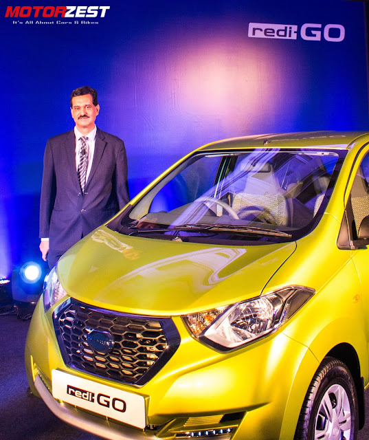 The All-New Datsun Redi-Go Is Here At Rs.2.38 Lakh