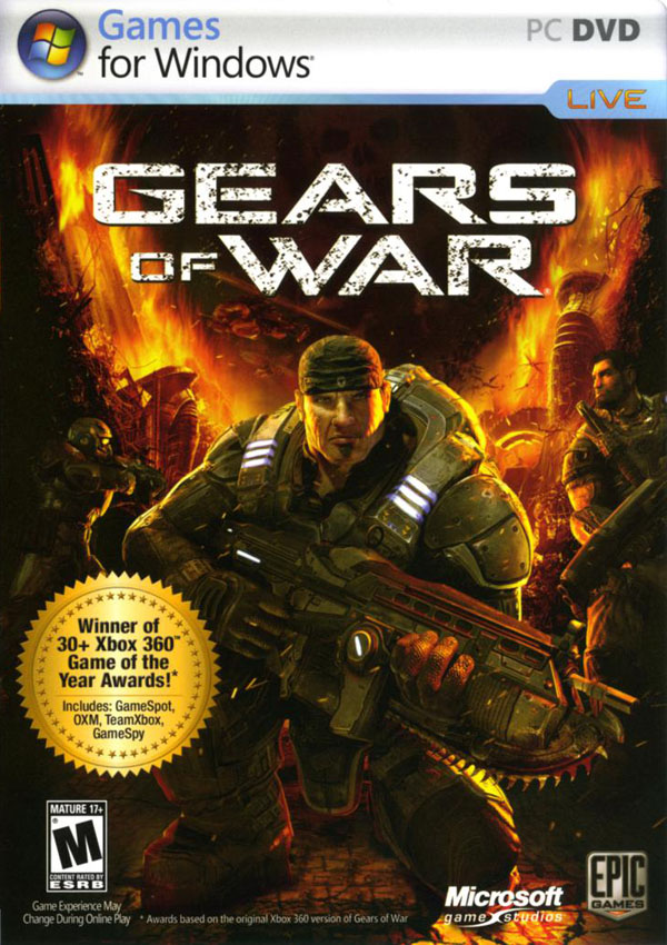 Gears of War 1 Download Cover Free Game
