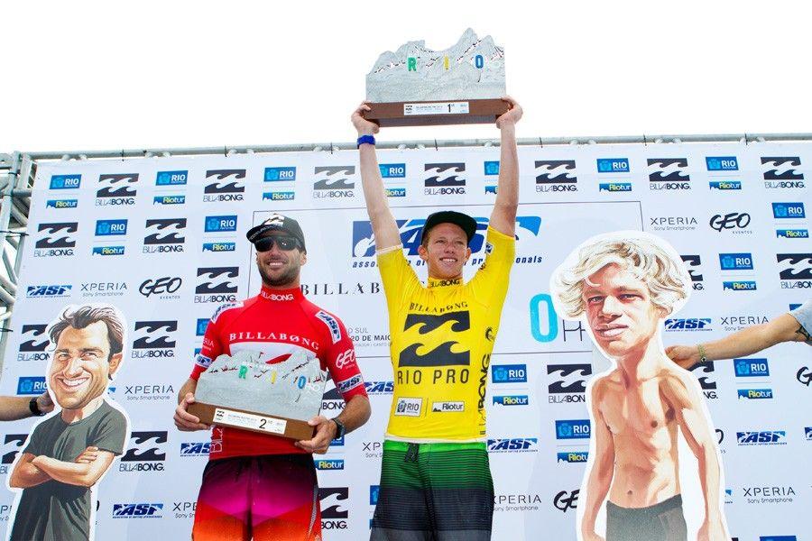 WCT Billabong Rio Pro 2012 - Entrega de premios