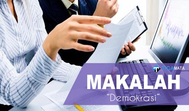 Tugas Makalah Tentang Demokrasi (Doc dan Pdf)