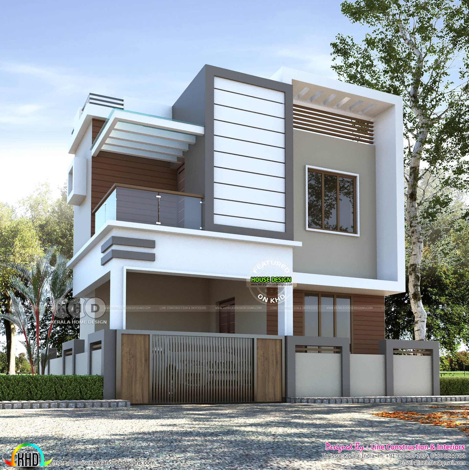 April 2019 - Kerala home design and floor plans
