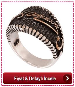 Else Silver Atatürk Erkek Yüzüğü
