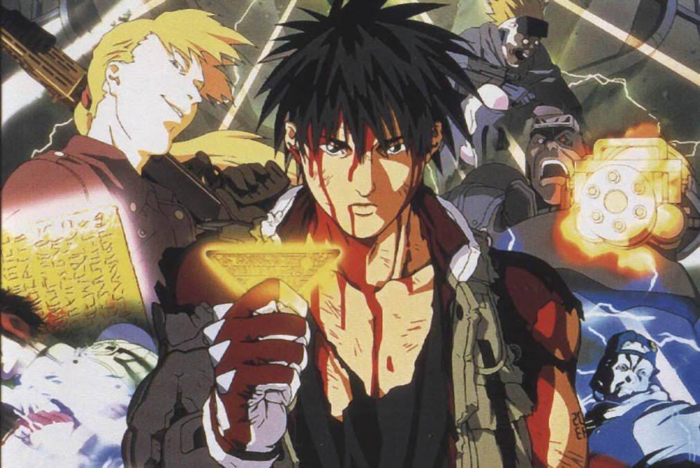 Spriggan - manga otrzyma anime