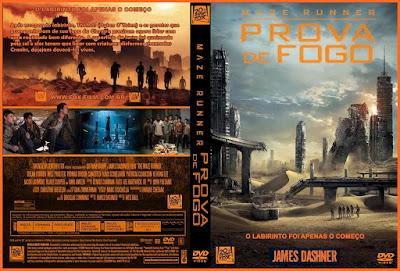 Filme Maze Runner  Prova De Fogo (Maze Runner - The Scorch Trials) DVD Capa