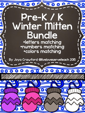 http://www.teacherspayteachers.com/Product/Pre-K-Kindergarten-Mitten-Matching-Bundle-Letters-Numbers-Colors-1637248