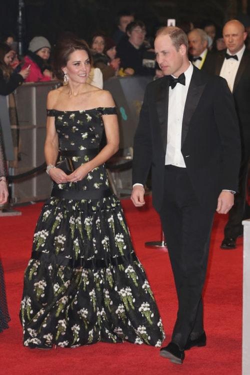 فساتين النجمات في حفل BAFTAs 2017