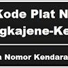 Kode Plat Nomor Kendaraan Pangkajene & Kepulauan