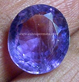 Batu Permata Kecubung Ungu - ZP 207