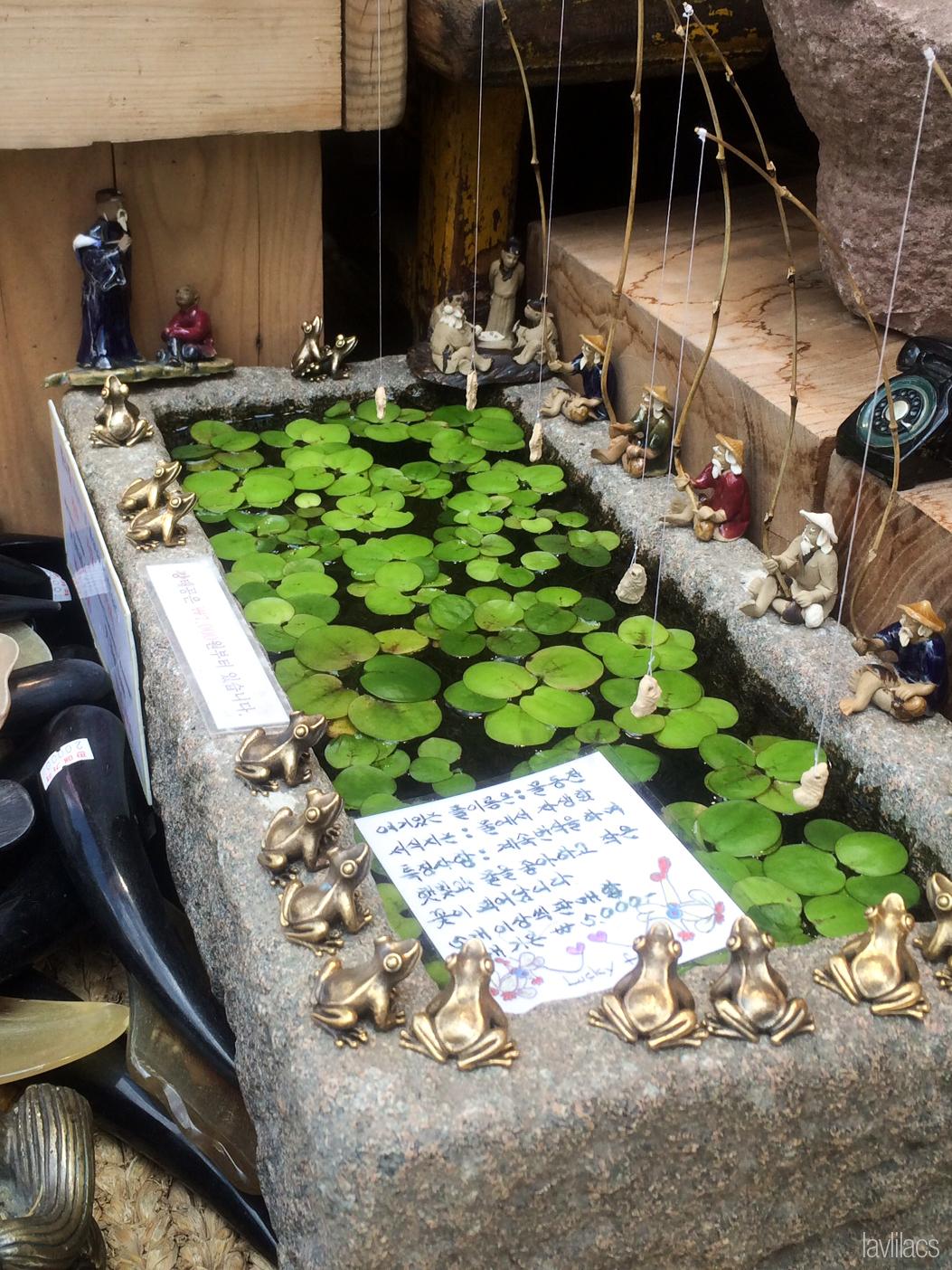Seoul, Korea - Summer Study Abroad 2014 - Seoul City Touring - Insadong 인사동 仁寺洞 souvenirs