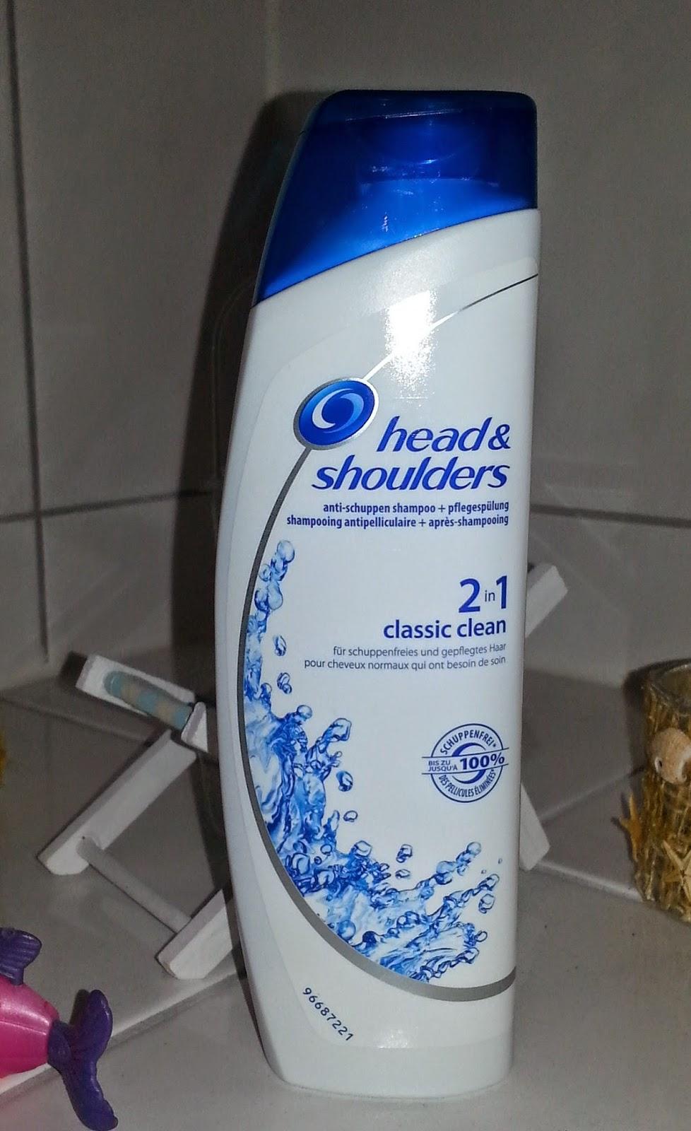 muttis produkttest blog head shoulders anti schuppen shampoo 2in1 classic clean. Black Bedroom Furniture Sets. Home Design Ideas