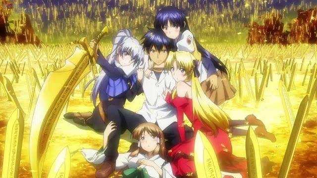 20 30 Rekomendasi Anime Harem Terbaik