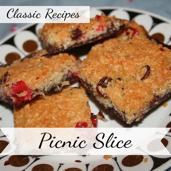The Butterfly Balcony Classic Recipes - Picnic Slice