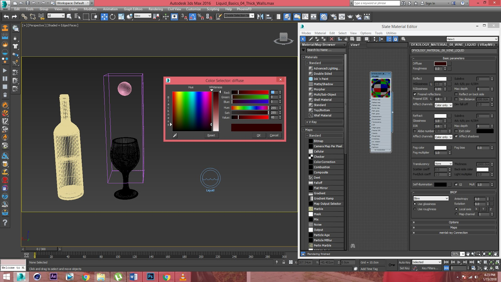 Liquid Simulation with Phoenix FD 3 0 - Ver 01 | DFX-ology