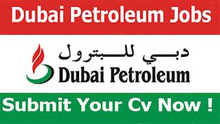 مطلوب شباب جميع المؤهلات للعمل في شركة دبى للبترول براتب شهري 7500 درهم