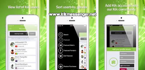 Conoce amigas y amigos nuevos a través de K Usernames For Kik