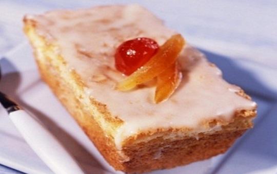 Torta de naranja con manteca