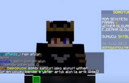 "Minecraft Son Oyuncu Serverı ""MEGA Jump"" Hilesi Şubat 2019"