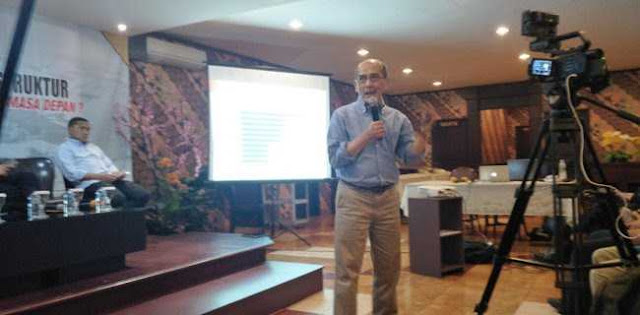 Faisal Basri: Infrastruktur Indonesia Jangan Tiru China