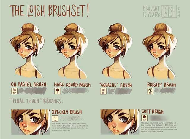 Photoshop-Brushset-by-Loish