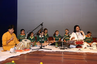 Bhajan Sopori's  melodious ragas enthrall Suncity students