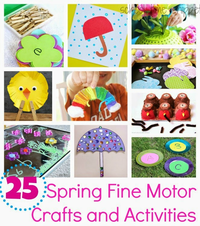 ideas to improve fine motor skills