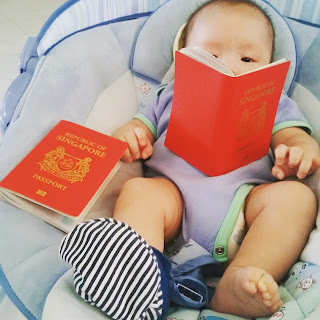 Baby YC has a passport!