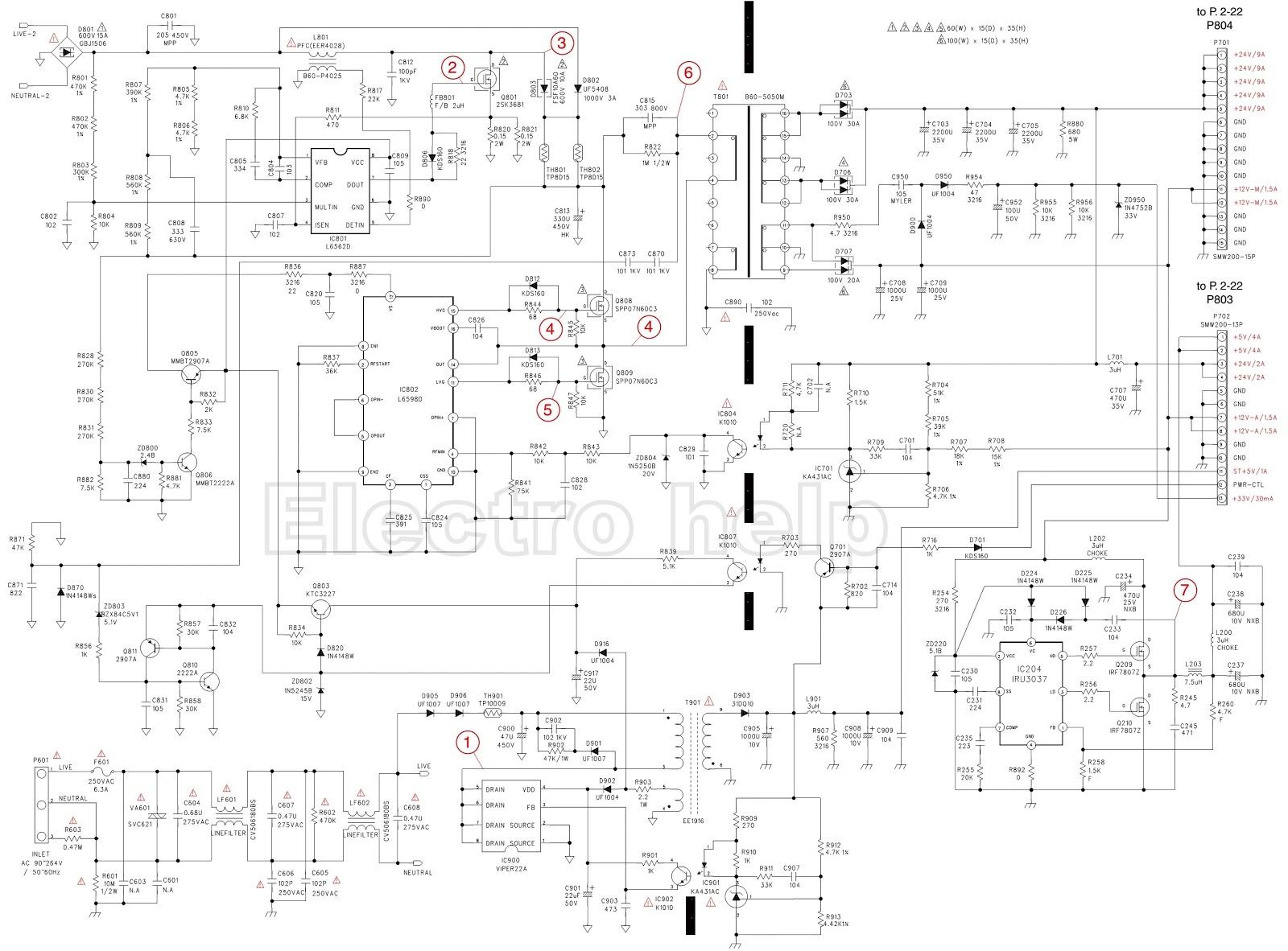 Lcd Display Wiring Diagram